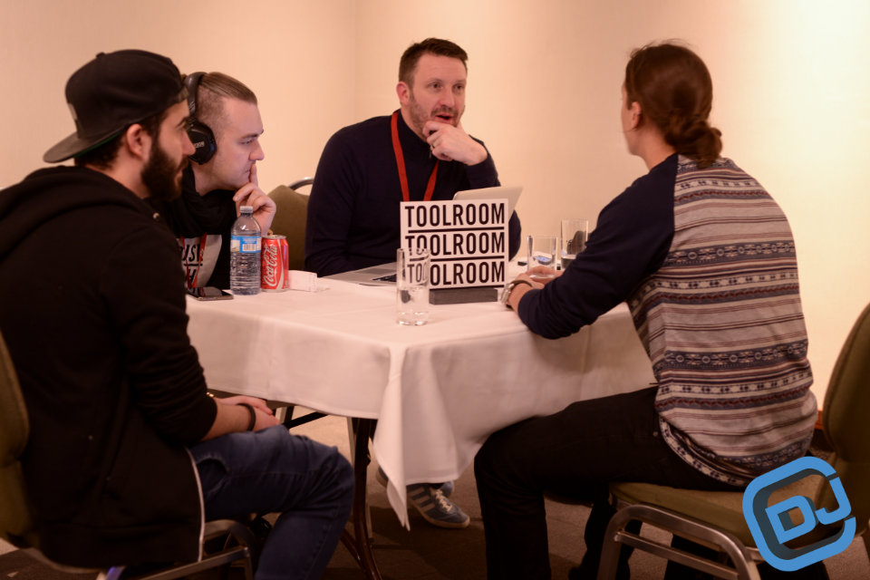 CDJ Show GetSigned meeting with Funkagenda and Stuart Knight from Toolroom
